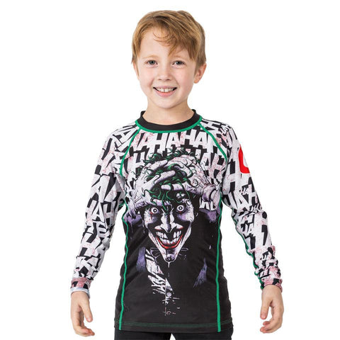 Batman Killing The Joke Kids Rash Guard - Long Sleeve - Fusion FG Australia