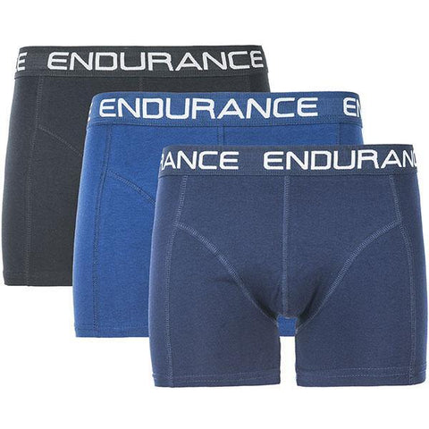 Endurance Burke Mens Boxer Shorts - 3 Pack (Multi Colour)