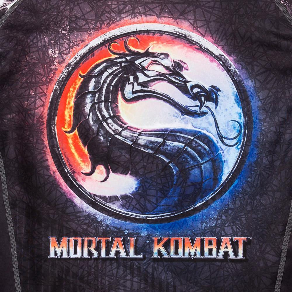 ADULTS Mortal Kombat Sub Zero vs. Scorpion Rash Guard - Long Sleeve