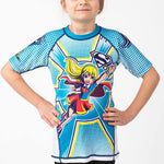 Supergirl Rash Guard - Short Sleeve