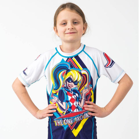 Harley Quinn Rash Guard - Short Sleeve - Pancho Michael