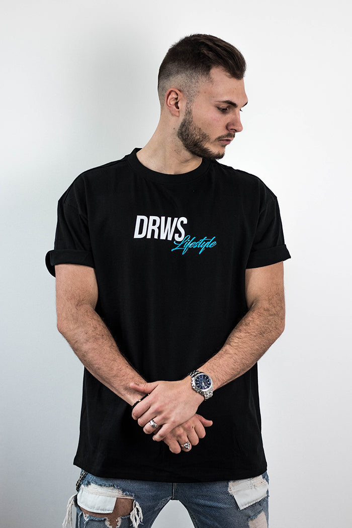 DRWS Lifestyle T-Shirt Black/Mint
