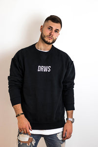 DRWS Inside Out Crewneck Stitched White