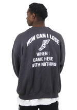 How can i lose Crewneck