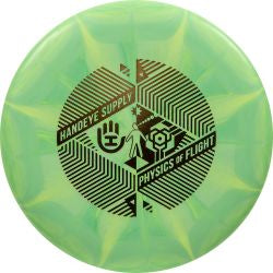 Dynamic Discs Classic Burst Deputy - Handeye Supply Staircase stamp