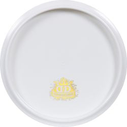 Dynamic Discs Fuzion Justice - Bottom Stamp/Blank Canvas