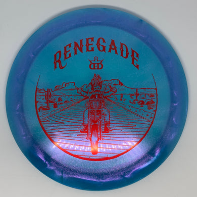 Dynamic Discs Lucid-X Glimmer Renegade - Ghost Rider Stamp