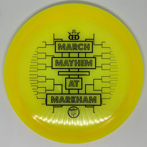 Dynamic Discs Lucid Air Felon - March Mayhem at Markham stamp