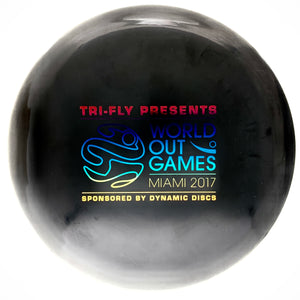 Dynamic Discs BioFuzion Truth - 2017 Miami World Out Games stamp