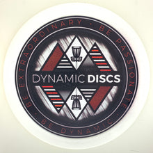 Load image into Gallery viewer, Dynamic Discs Fuzion Verdict - DD Limited Edition Deco-Stamp