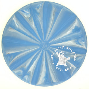 Westside Discs Origio Burst Maiden - Small Fluffy Putz stamp