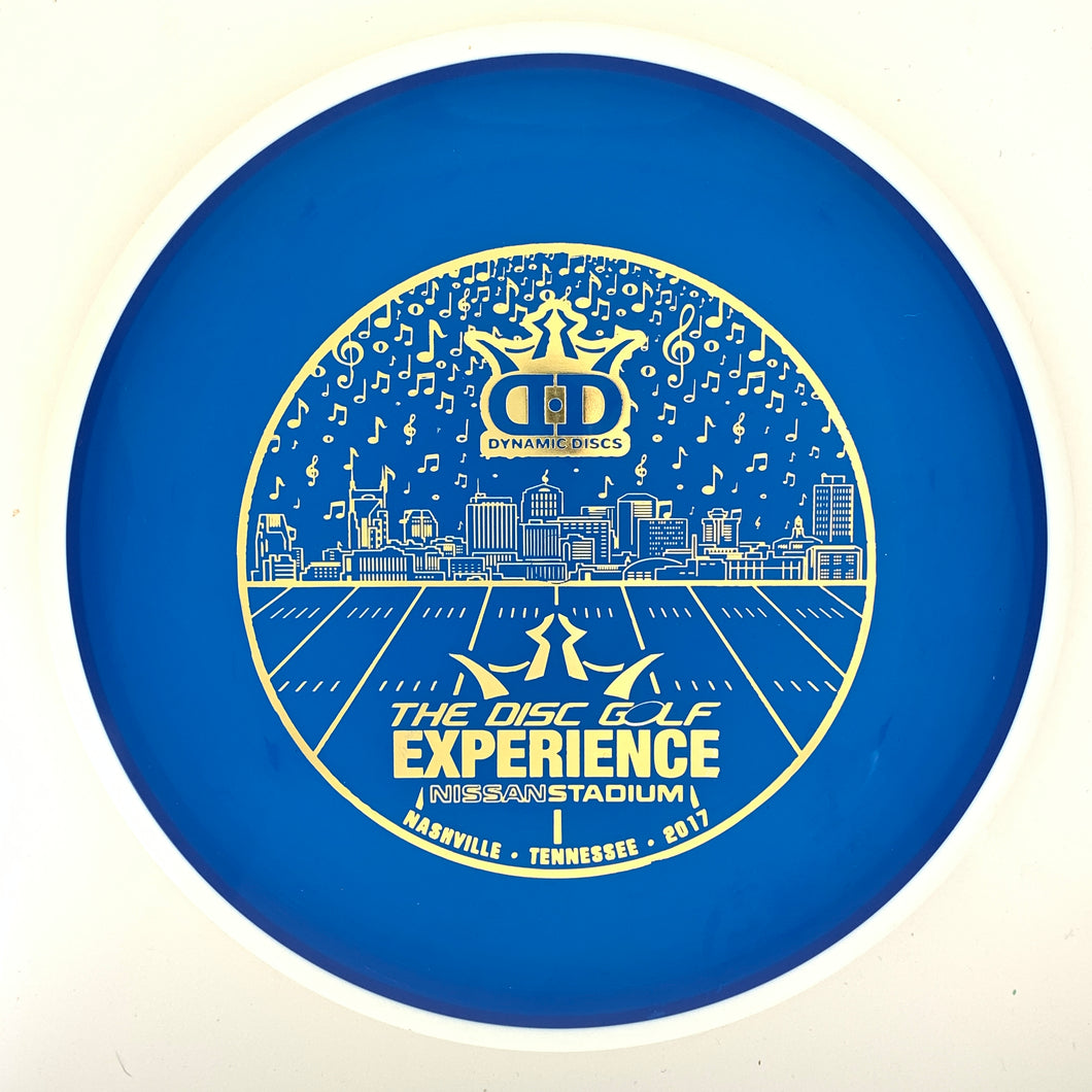 Latitude 64 2K Opto-G Sarek - 2017 DD The Disc Golf Experience stamp