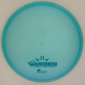 Dynamic Discs Lucid-X Chameleon Warden - Small AJ Risley 2020 Team Series V.3 stamp
