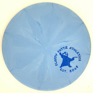 Dynamic Discs Classic Blend Burst Warden - Small Fluffy Putz stamp