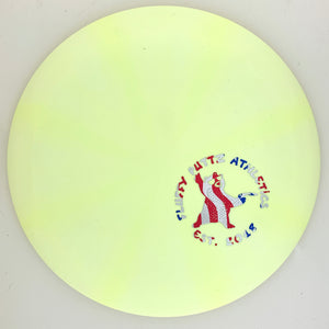 Dynamic Discs Fuzion-X Blend Trespass Fluffy Putz Mini Stamp