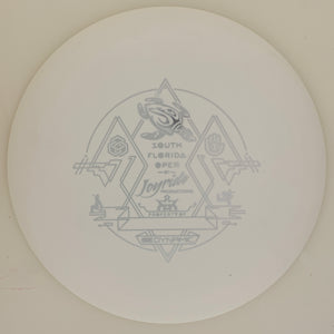 Dynamic Discs Fuzion-X Blend Trespass SFO Tournament Stamp