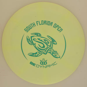 Dynamic Discs Fuzion-X Blend Trespass SFO Big Turtle Stamp