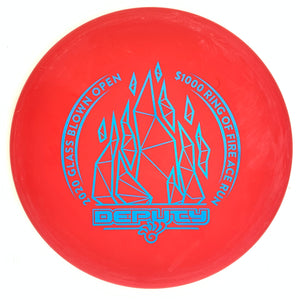 Dynamic Discs Prime Deputy - 2020 GBO $1000 Ring of Fire Ace Run w/ Backstamp