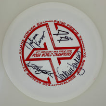Load image into Gallery viewer, Dynamic Discs Fuzion Truth - Fundraiser Multiple FPO World Champ stamp Signatures Series w/ Backstamp