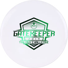 Load image into Gallery viewer, Westside Discs Tournament Gatekeeper - 2019 Trilogy Challenge stamp