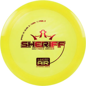 Dynamic Discs Lucid Air Sheriff
