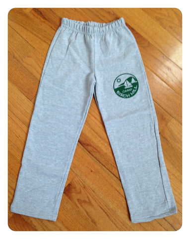 Youth Sweatpants [Green & Grey]