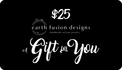 Earth Fusion Designs 25 Dollar Gift Card