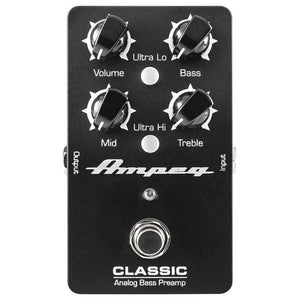 Ampeg Classic Analog Classic Bass Preamp Pedal