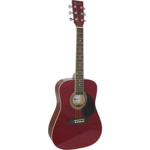 GR52005R: Blue Moon Mini Dreadnought Guitar, Red
