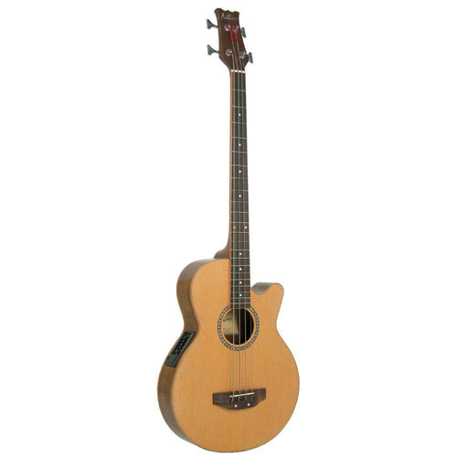 GR56047: Ashbury Electro Acoustic Bass Guitar