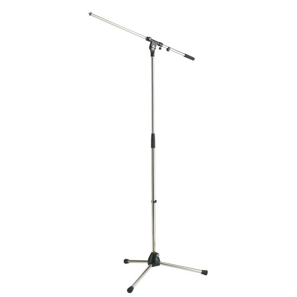 König & Meyer Microphone Boom Stand in Chrome