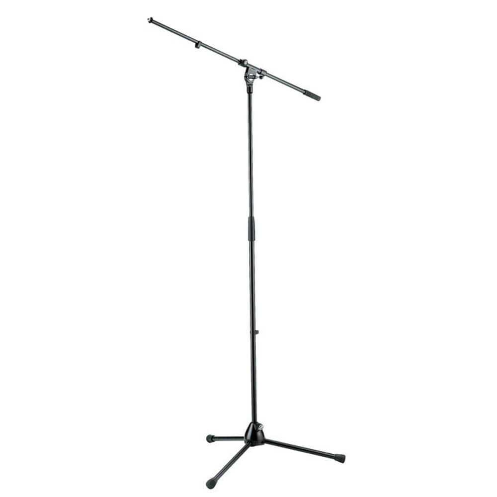 König & Meyer Microphone Boom Stand in Black