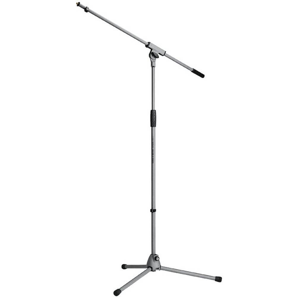 König & Meyer Soft Touch Microphone Boom Stand in Grey