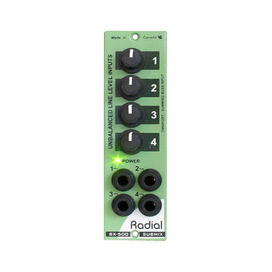 Radial Workhorse SubMix