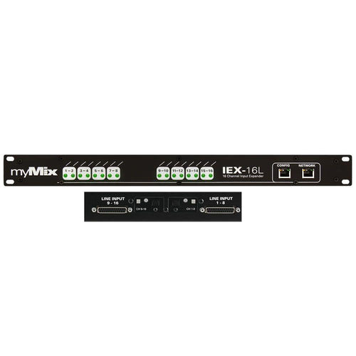 myMix IEX-16L-A Analogue & Digital Input Expander