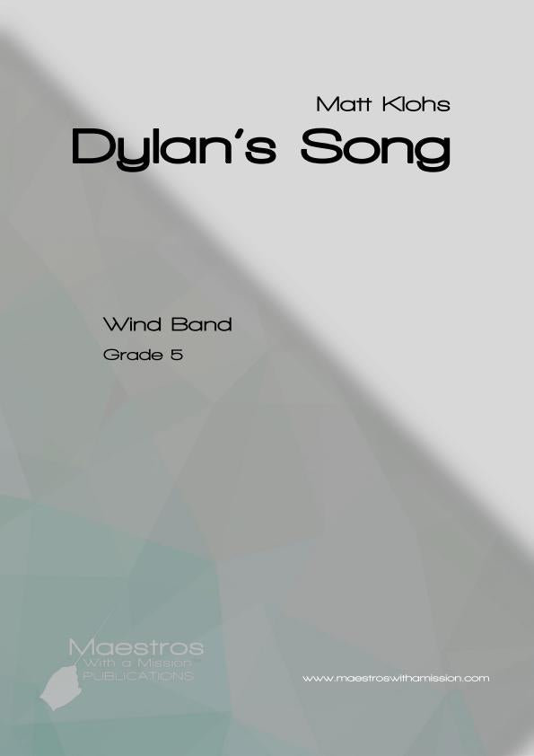 Dylan's Song: and we walked between raindrops (Score & Parts)