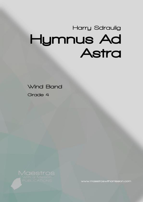 Hymnus ad Astra (Score Only)