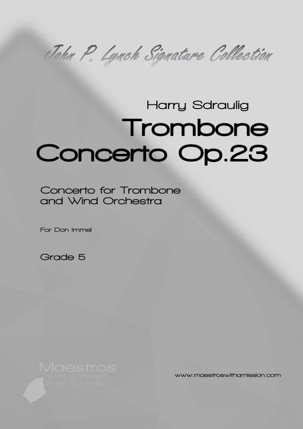 Trombone Concerto Op.23 (Score and Parts)