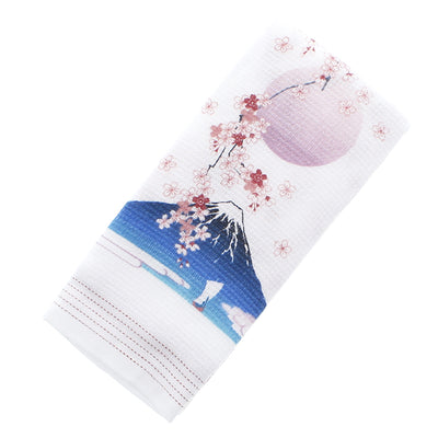 Photo Kontex Imabari Towel Face Towel Cloth Rayomi Sakura Fuji Pink 33 × 100 cm