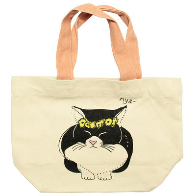 photo of the FRIENDS HILL Tote Bag Ris Cat Mini  20×30cm