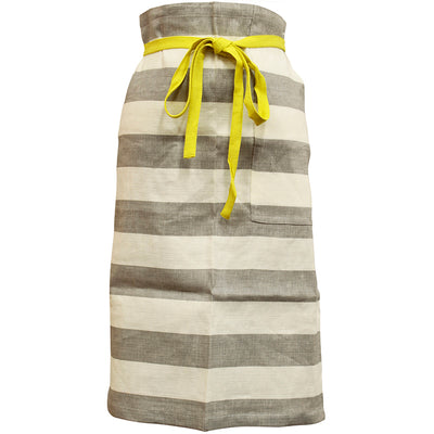 photo of the FRIENDS HILL Apron Bergamot Broad Garcon  Length 65cm