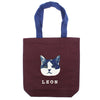 photo of the FRIENDS HILL Tote Bag Leon A4 Red 39 X 38 Cm