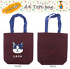 Tote Bag Leon A4 Red 39 X 38 Cm