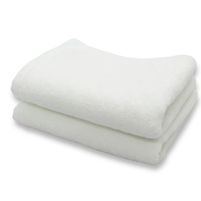 Imabari Towel Face Towel Soft Twisted Yarn Gentle 2 Piece Set White