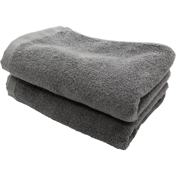 Soft Face Towel - 2 Piece Set - Ash Grey