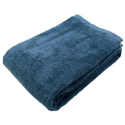 Imabari Towel Bath Towel Soft Twisted Yarn Gentle Ash Blue