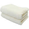 Imabari Towel Face Towel Soft Twisted Yarn Gentle 2 Piece Set Off-White