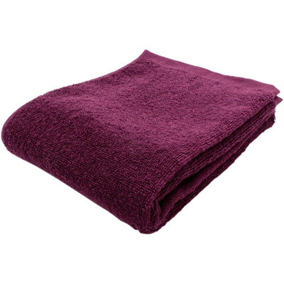 Imabari Towel Face Towel Soft Twisted Yarn Gentle Plum