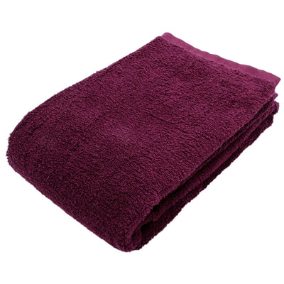 Imabari Towel Bath Towel Soft Twisted Yarn Gentle Plum