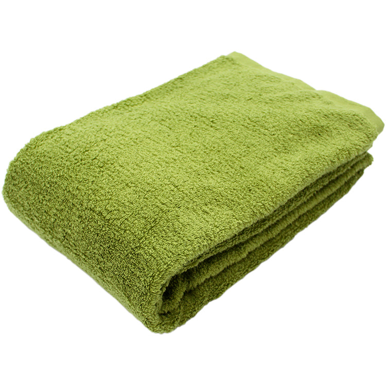 Soft Bath Towel - Green